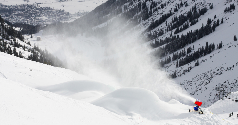 Armatki śnieżne - producent