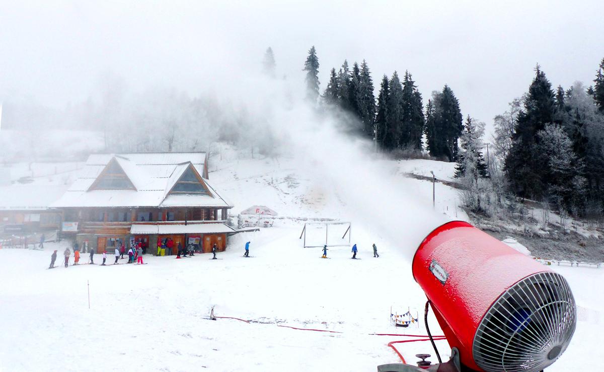 Armatka śnieżna Welderstal WS Snow 95 realizacje