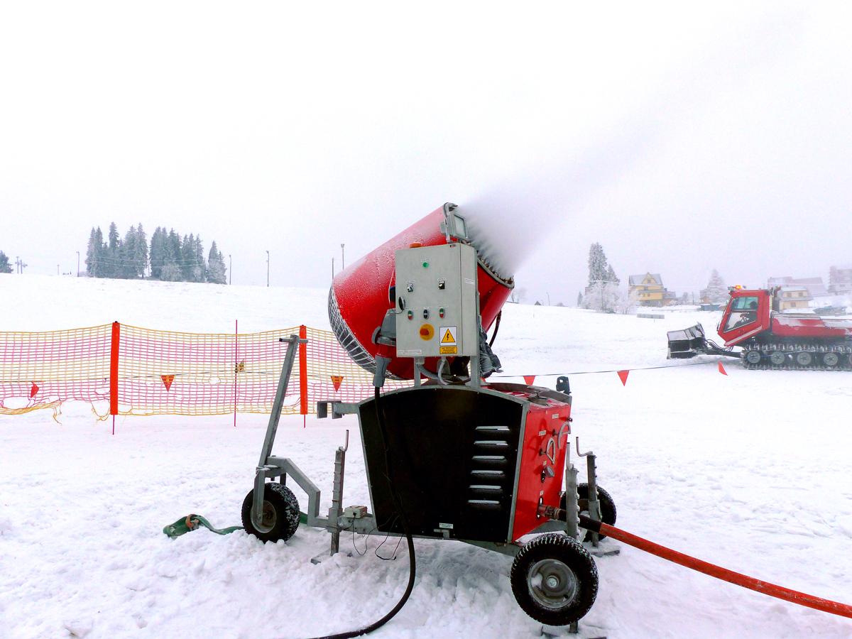 Armatka śnieżna Welderstal WS Snow 95 - produkcja