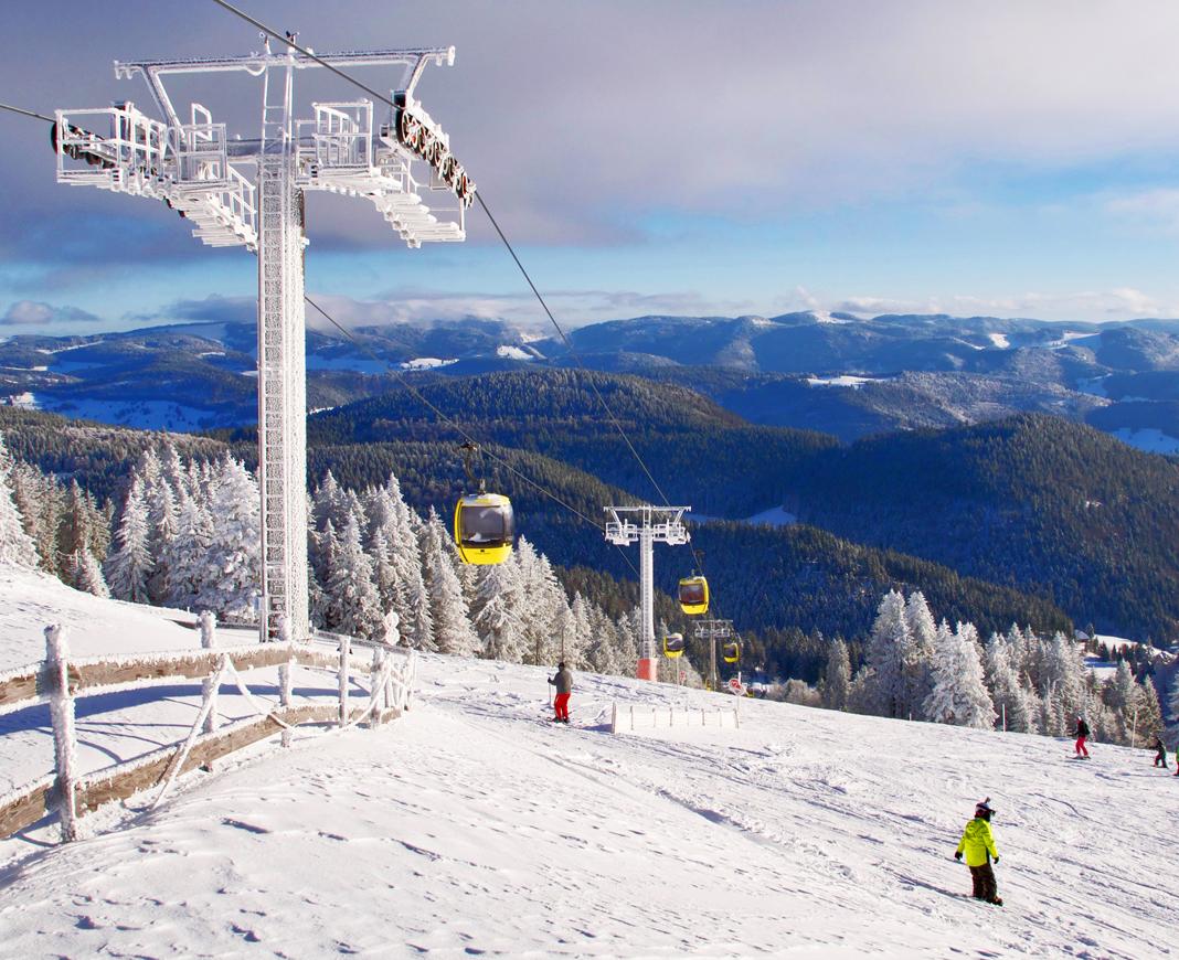 Naśnieżanie stoków narciarskich