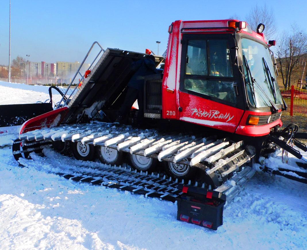 Serwis ratraków śnieżnych