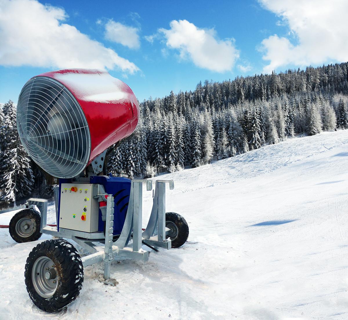 Armatka śnieżna Welderstal WS Snow 195 realizacje