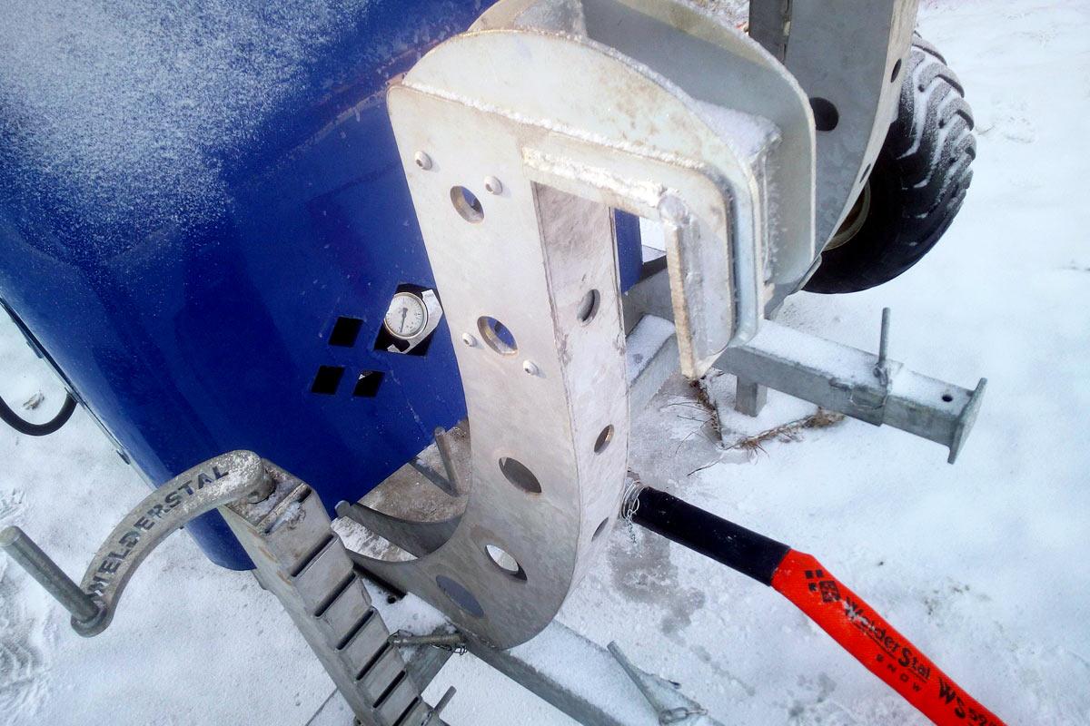 Armatki śnieżne - realizacje